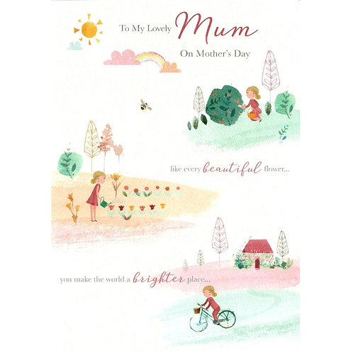Rainbow Mother's Day Card