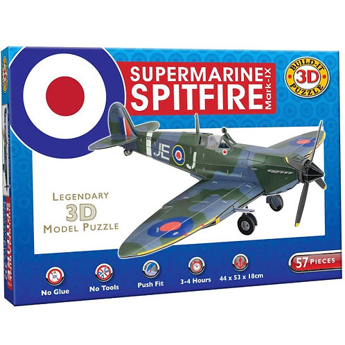 Supermarine Spitfire 3D Puzzle