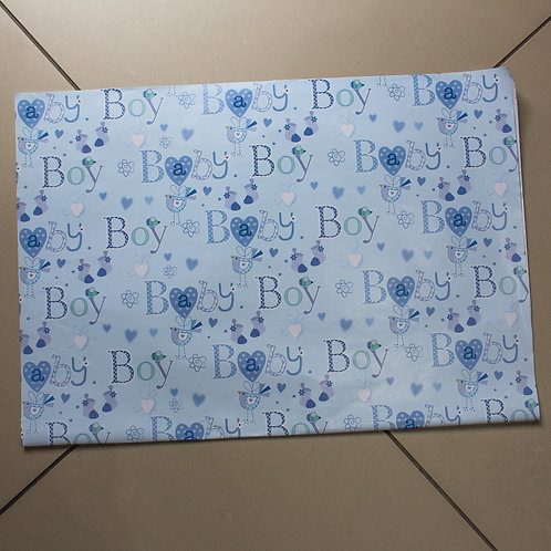 Baby Boy Wrapping Paper