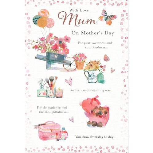 Sweetness & Kindness Mother's Day Card