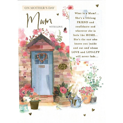 Front Door Mother's Day Card