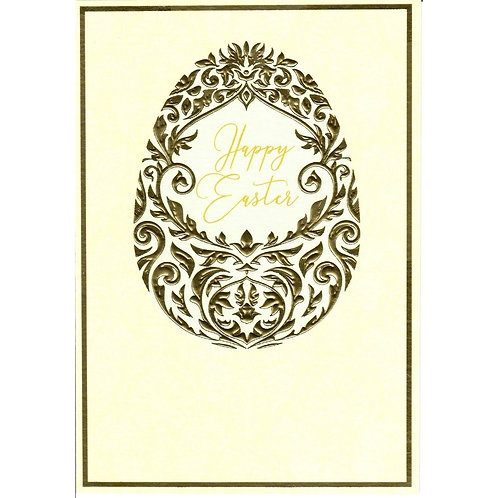 Golden Egg Easter Card