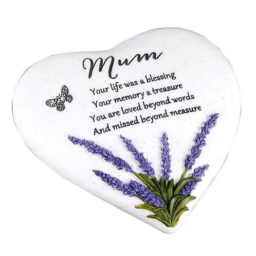 Mum Outdoor Memorial Plaque