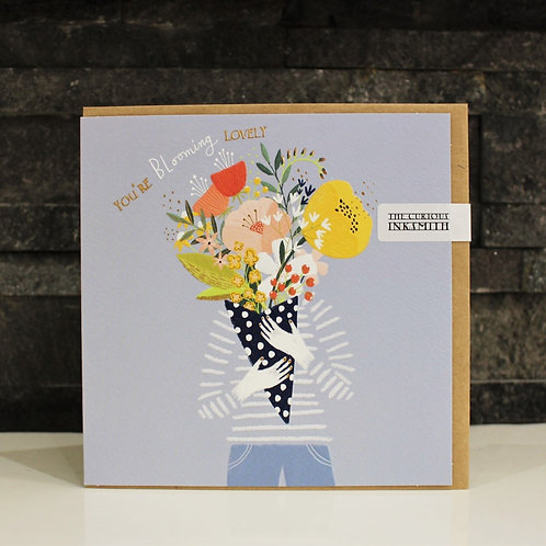 You're Blooming Lovely Birthday Card
