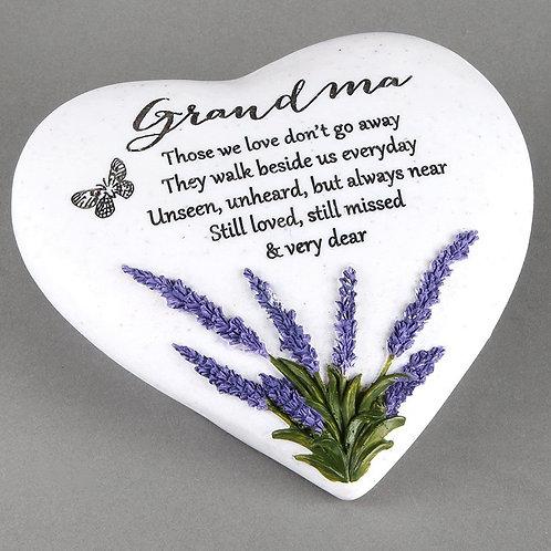 Grandma Outdoor Memorial Plaque
