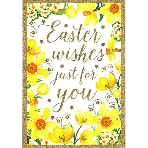 Flower Boarder Pack of 5 Easter Cards