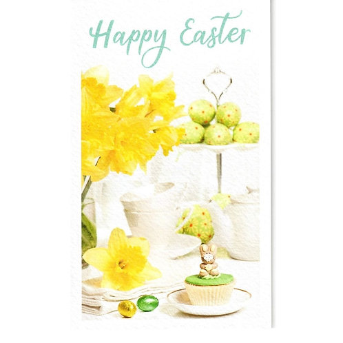 Cupcake Pack of 6 Small Easter Cards