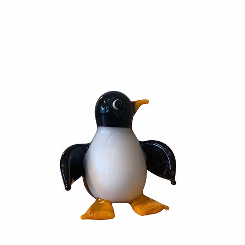 Minature Glass Penguin