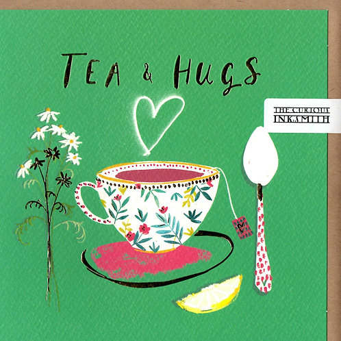 Tea and Hugs Card