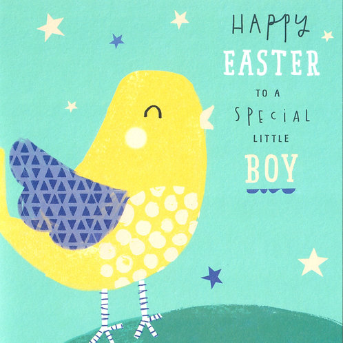 Special Little Boy Easter Card