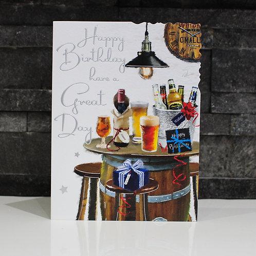 Pub Birthday Card