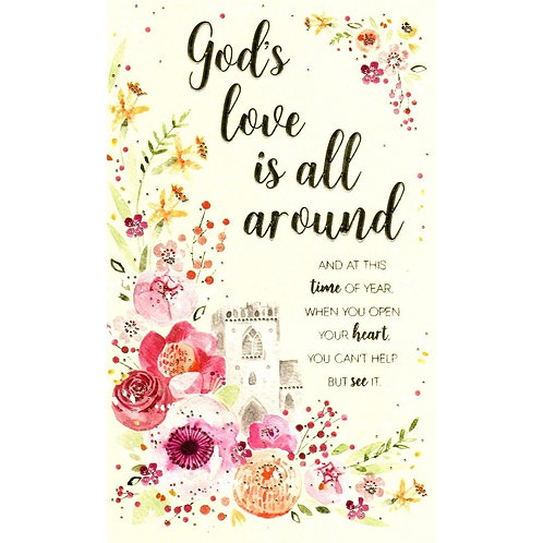 God's Love Easter Card