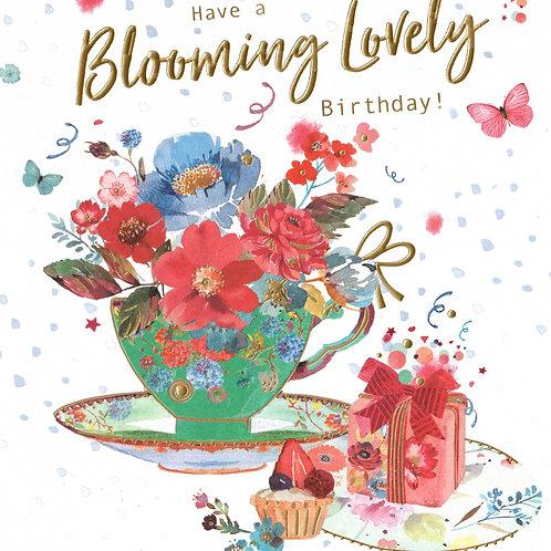 Teacup Birthday Card