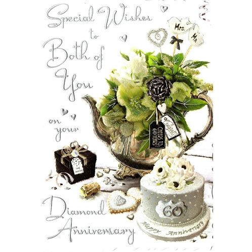 Both of You Diamond Anniversary Card
