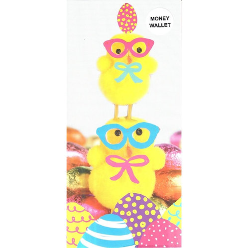 Chicklets Easter Money Wallet