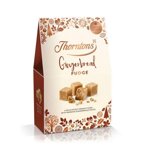 Gingerbread Fudge Box (125g)