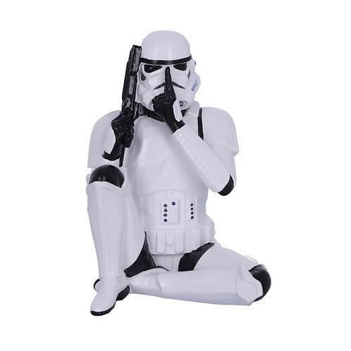 Speak No Evil Seated Stormtrooper (10cm)