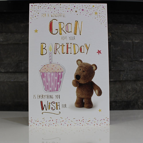 GRAN Birthday Card