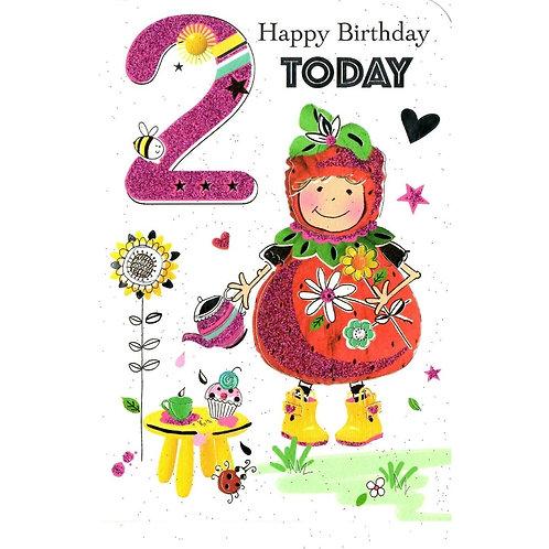 2nd Birthday Card
