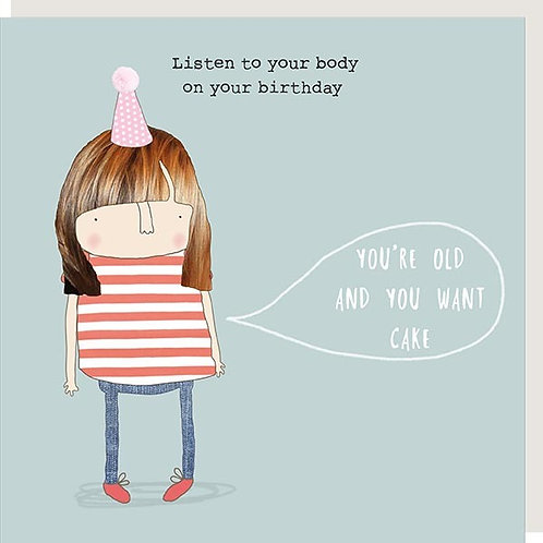 Listen to Your Body Card