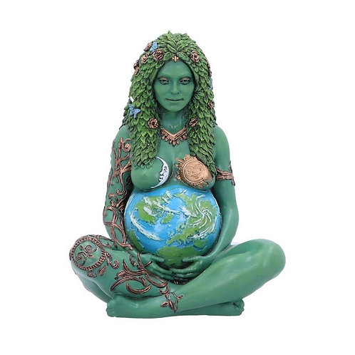 Mother Earth Painted Art Figurine 17.5cm