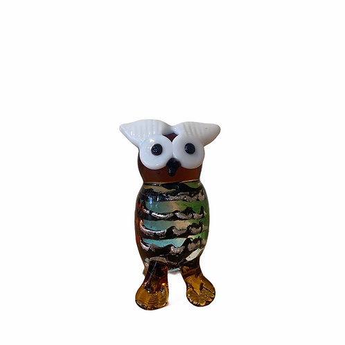 Minature Glass Owl