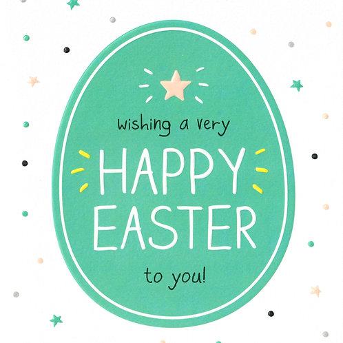 Starry Egg Easter Card