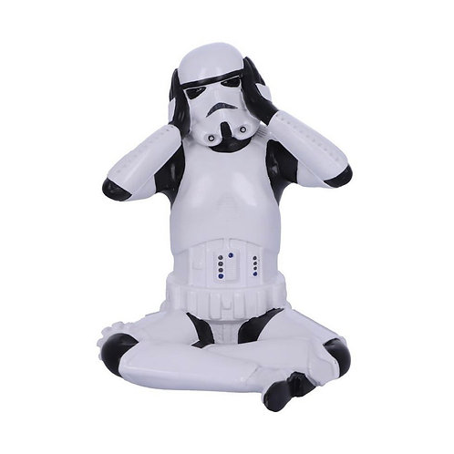 Hear No Evil Seated Stormtrooper (10cm)