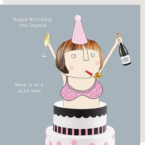Wild One Birthday Card