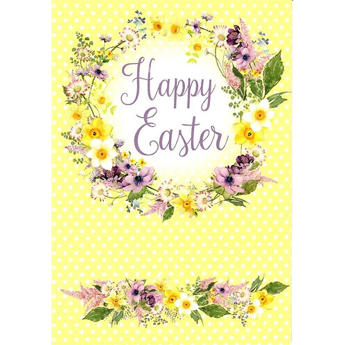 Wreath Pack of 5 Easter Cards