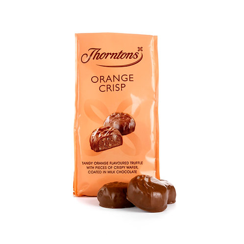 Bag of Orange Crisp Chocolates