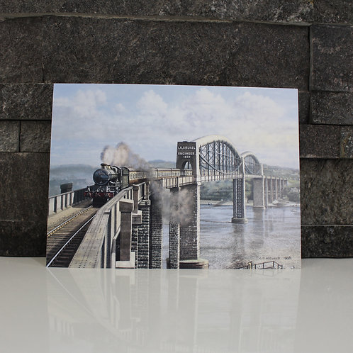 Royal Albert Bridge Card