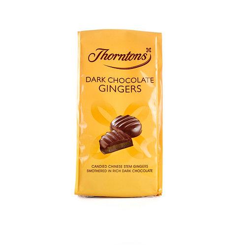 Bag of Dark Chocolate Gingers (100g)