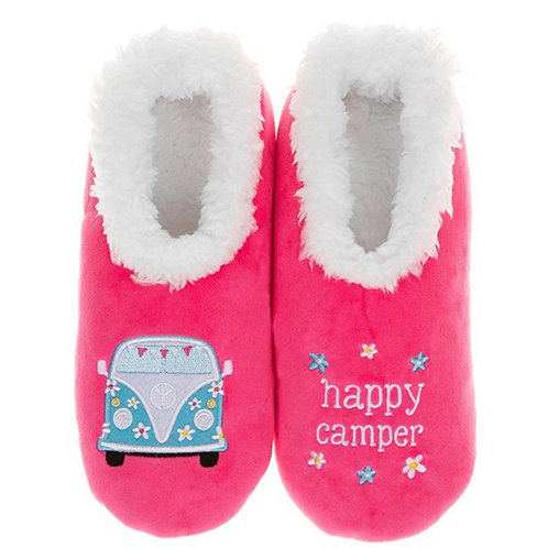 Happy Camper Slippers