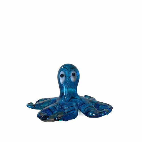 Minature Glass Octopus