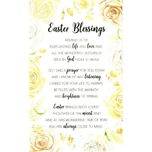 Blessings Easter Card