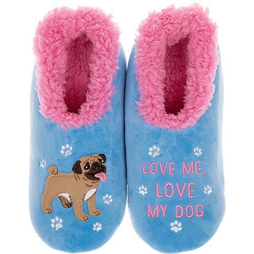 Love Me, Love My Dog Slippers