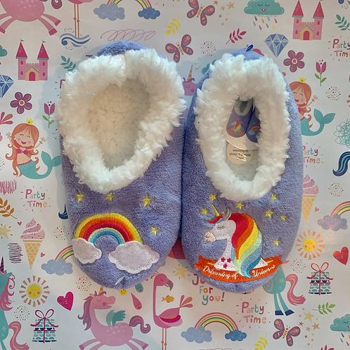 Kids Unicorn Slippers
