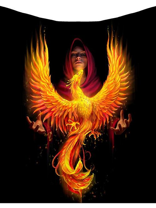 Phoenix Rising Throw (160cm)
