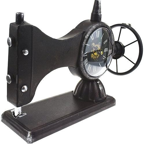 Sewing Machine Mantel Clock
