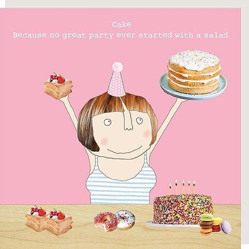 Cake not Salad Card