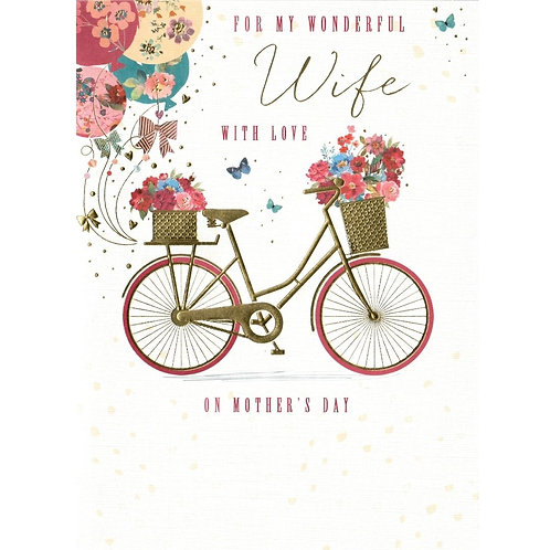 WIFE Mother's Day Card
