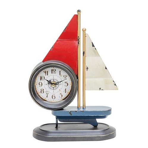 Sailing Boat Mantel Clock