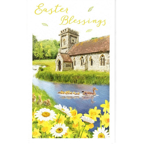 Ducks Pack of 6 Small Easter Cards
