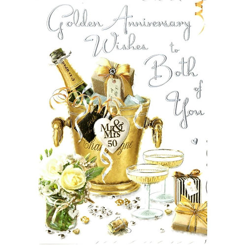 Both of You Golden Anniversary Card