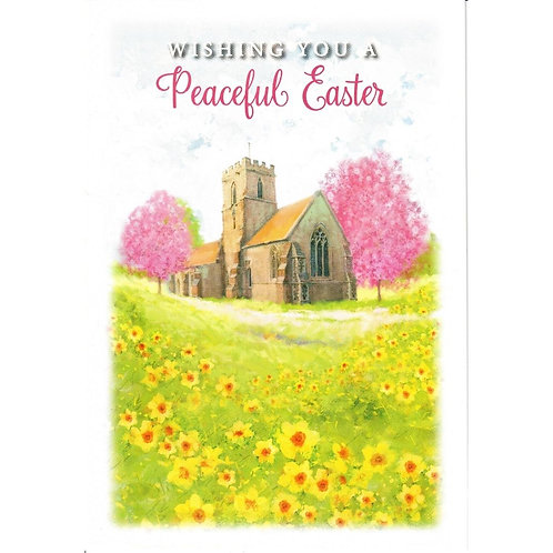 Church Pack of 5 Easter Cards