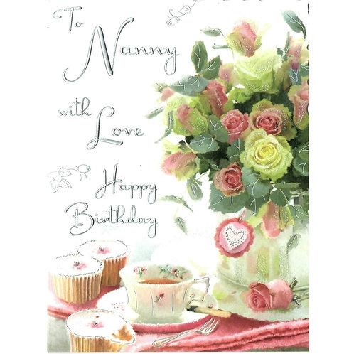 NANNY Birthday Card