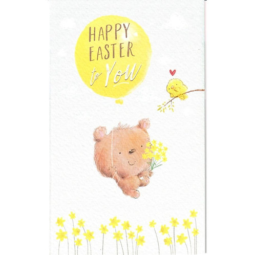 Balloon Pack of 6 Small Easter Cards