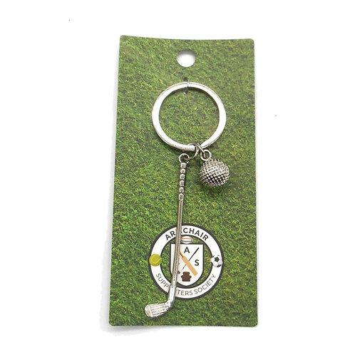 Golf Keyring