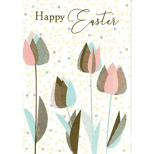 Tulips Easter Card